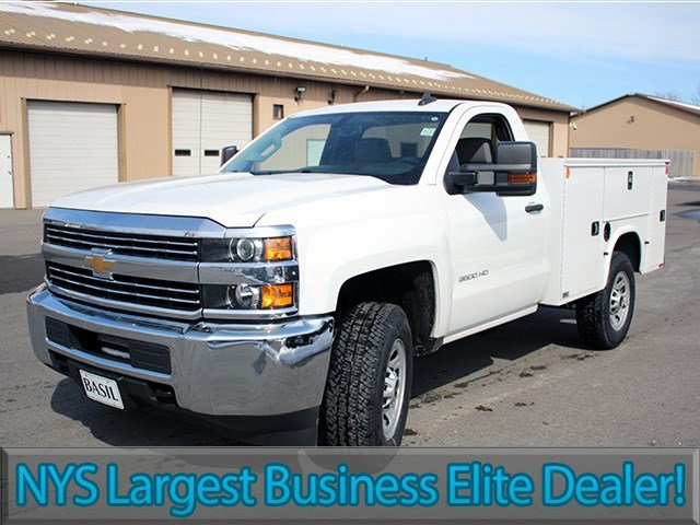 2017 Silverado 3500 Regular Cab 4x4, Knapheide Service Body #17C87T - photo 3