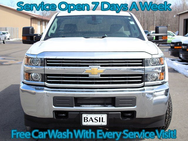 2017 Silverado 3500 Regular Cab 4x4, Knapheide Service Body #17C87T - photo 4