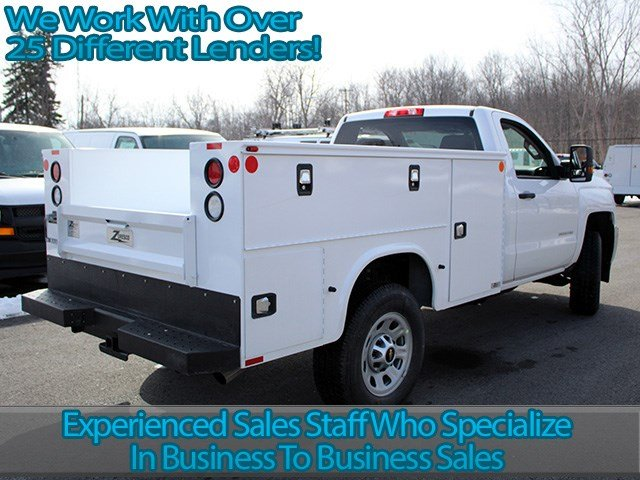 2017 Silverado 3500 Regular Cab 4x4, Knapheide Service Body #17C87T - photo 2