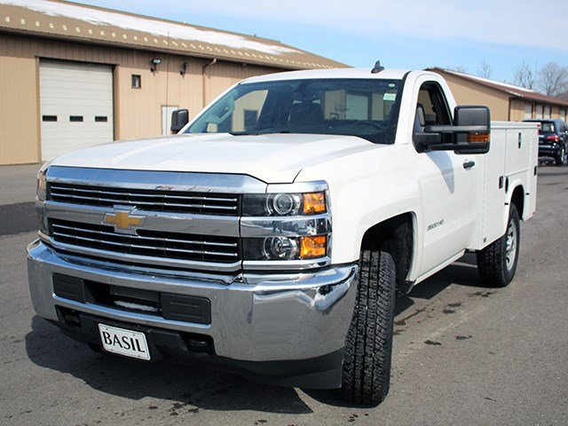 2017 Silverado 3500 Regular Cab 4x4, Knapheide Service Body #17C87T - photo 7