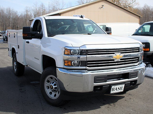 2017 Silverado 3500 Regular Cab 4x4, Knapheide Service Body #17C87T - photo 8