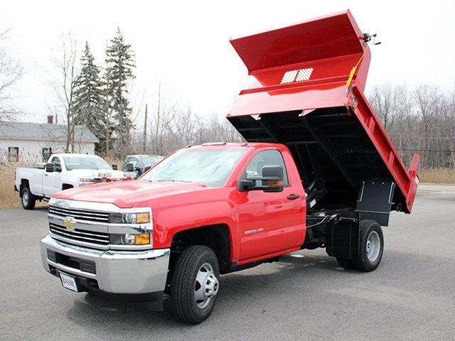 2017 Silverado 3500 Regular Cab 4x4, Rugby Dump Body #17C90T - photo 12