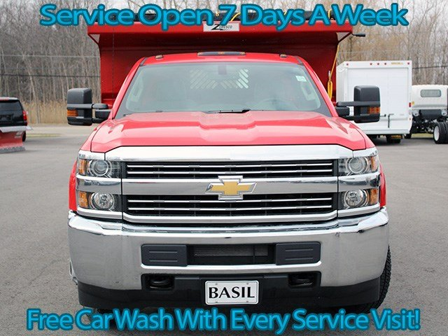 2017 Silverado 3500 Regular Cab 4x4, Rugby Dump Body #17C90T - photo 4