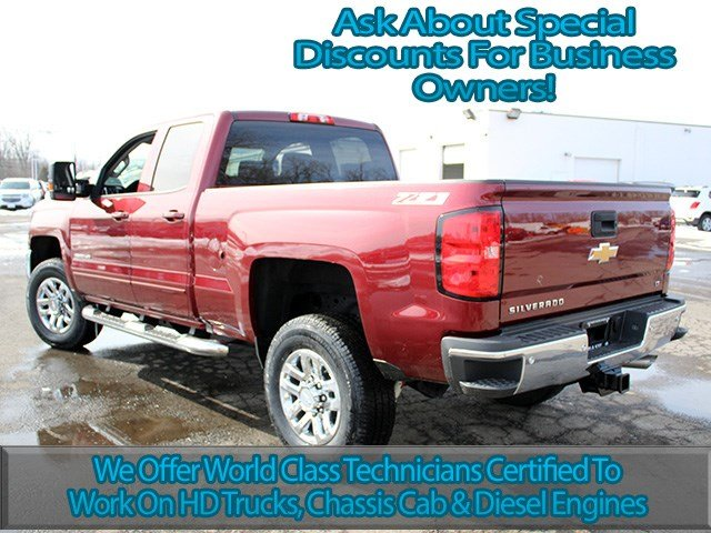 2017 Silverado 2500 Double Cab 4x4, Pickup #17C91T - photo 6