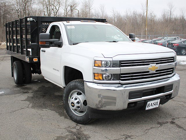 2017 Silverado 3500 Regular Cab, Knapheide Stake Bed #17C92T - photo 9