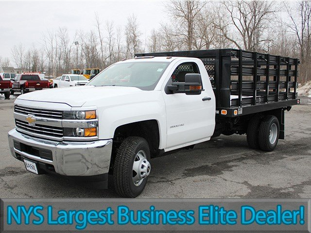 2017 Silverado 3500 Regular Cab, Knapheide Stake Bed #17C92T - photo 3