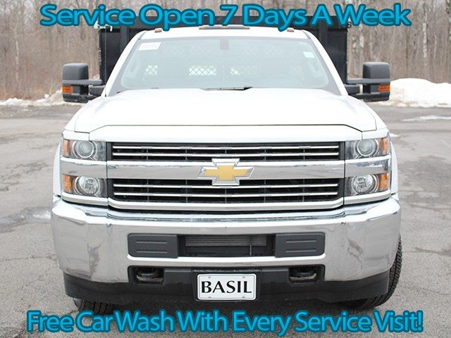 2017 Silverado 3500 Regular Cab, Knapheide Stake Bed #17C92T - photo 4