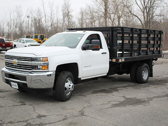2017 Silverado 3500 Regular Cab, Knapheide Stake Bed #17C92T - photo 7