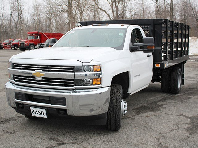 2017 Silverado 3500 Regular Cab, Knapheide Stake Bed #17C92T - photo 8