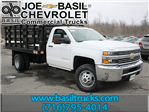 2017 Silverado 3500 Regular Cab, Knapheide Stake Bed #17C92T - photo 1
