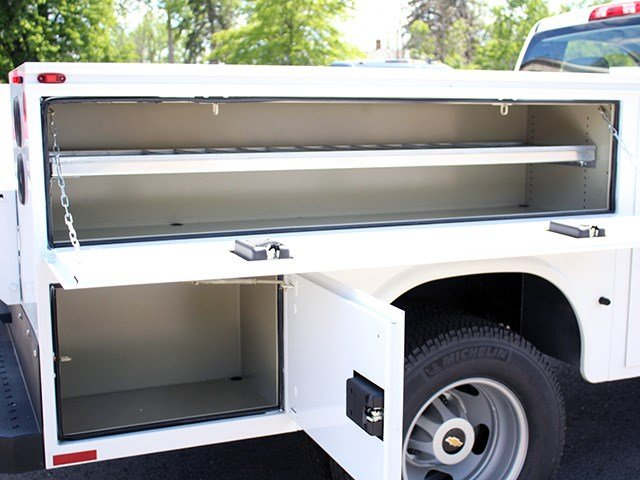 2017 Silverado 3500 Regular Cab 4x4, Knapheide Service Body #17C93T - photo 9