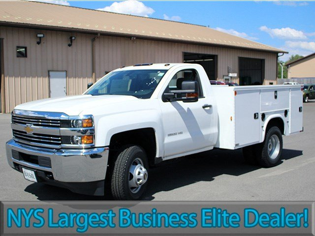 2017 Silverado 3500 Regular Cab 4x4, Knapheide Service Body #17C93T - photo 3