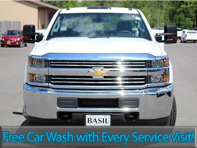 2017 Silverado 3500 Regular Cab 4x4, Knapheide Service Body #17C93T - photo 4