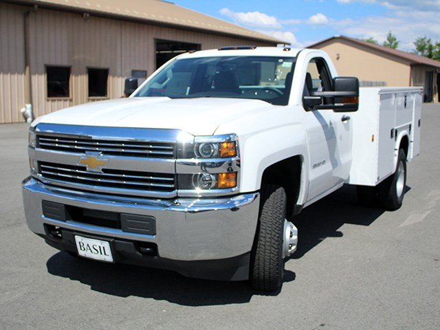 2017 Silverado 3500 Regular Cab 4x4, Knapheide Service Body #17C93T - photo 5