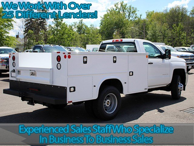 2017 Silverado 3500 Regular Cab 4x4, Knapheide Service Body #17C93T - photo 2