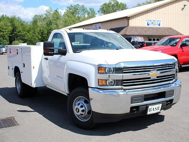 2017 Silverado 3500 Regular Cab 4x4, Knapheide Service Body #17C93T - photo 6