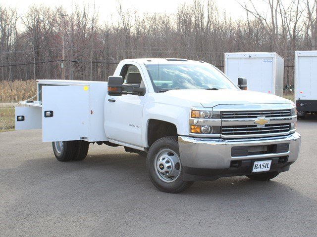 2017 Silverado 3500 Regular Cab, Knapheide Service Body #17C96T - photo 11