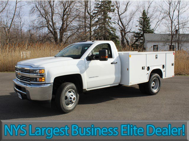 2017 Silverado 3500 Regular Cab, Knapheide Service Body #17C96T - photo 3