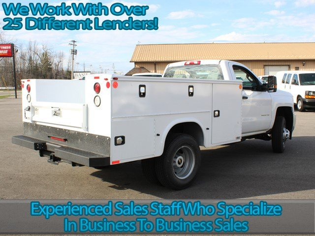 2017 Silverado 3500 Regular Cab, Knapheide Service Body #17C96T - photo 2