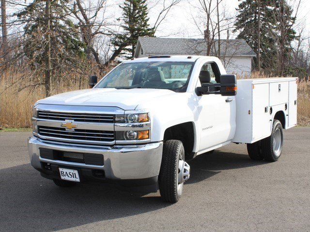 2017 Silverado 3500 Regular Cab, Knapheide Service Body #17C96T - photo 7