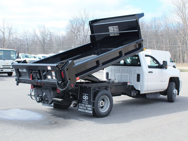 2018 Silverado 3500 Regular Cab DRW 4x4,  Air-Flo Dump Body #18C114T - photo 12