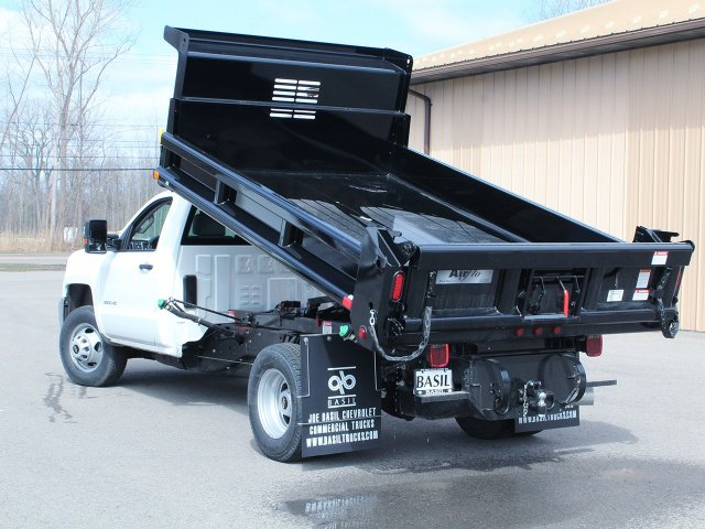 2018 Silverado 3500 Regular Cab DRW 4x4,  Air-Flo Dump Body #18C114T - photo 13