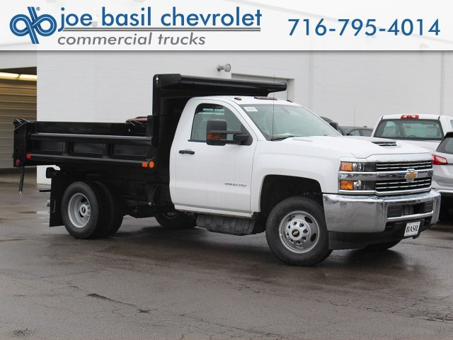 2018 Silverado 3500 Regular Cab DRW 4x4,  Air-Flo Pro-Class Dump Body #18C119T - photo 1