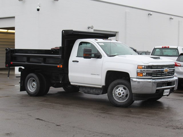 2018 Silverado 3500 Regular Cab DRW 4x4,  Air-Flo Dump Body #18C119T - photo 21