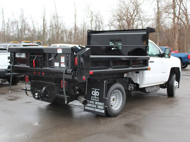 2018 Silverado 3500 Regular Cab DRW 4x4, Dump Body #18C119T - photo 2
