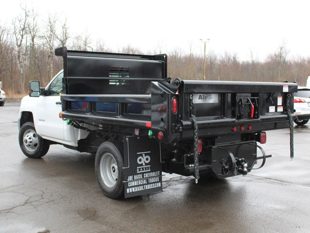 2018 Silverado 3500 Regular Cab DRW 4x4,  Air-Flo Pro-Class Dump Body #18C119T - photo 8