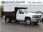 2018 Silverado 3500 Regular Cab DRW 4x4,  Air-Flo Dump Body #18C119T - photo 1