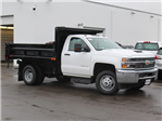 2018 Silverado 3500 Regular Cab DRW 4x4,  Air-Flo Pro-Class Dump Body #18C119T - photo 21