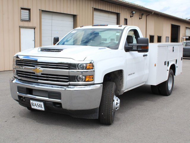 2018 Silverado 3500 Regular Cab DRW 4x4,  Knapheide Service Body #18C120T - photo 15
