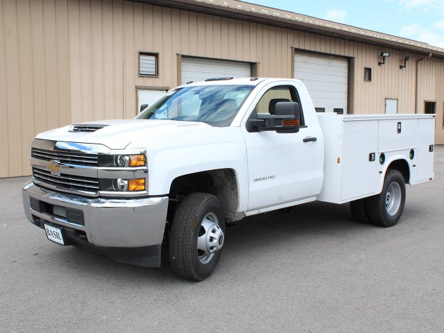 2018 Silverado 3500 Regular Cab DRW 4x4,  Knapheide Service Body #18C120T - photo 3