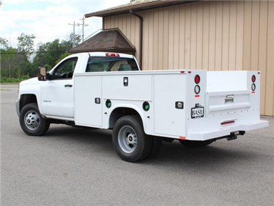 2018 Silverado 3500 Regular Cab DRW 4x4,  Knapheide Standard Service Body #18C120T - photo 8