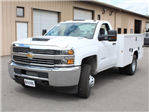 2018 Silverado 3500 Regular Cab DRW 4x4,  Knapheide Standard Service Body #18C120T - photo 15