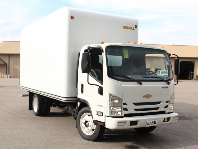 2018 LCF 4500 Regular Cab 4x2,  Unicell Dry Freight #18C141T - photo 12