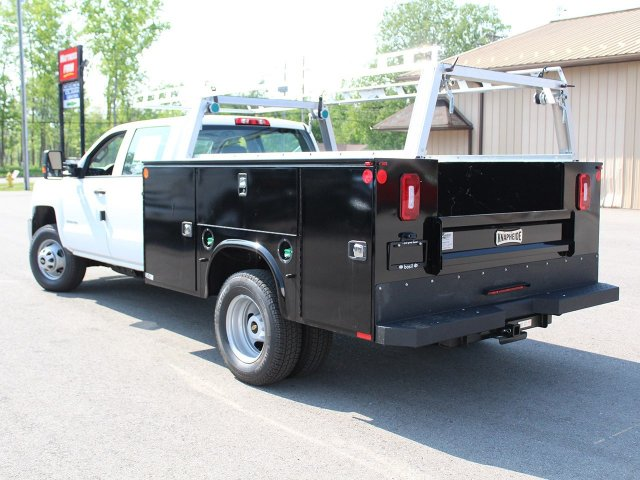 2018 Silverado 3500 Crew Cab DRW 4x4, Service Body #18C144T - photo 2