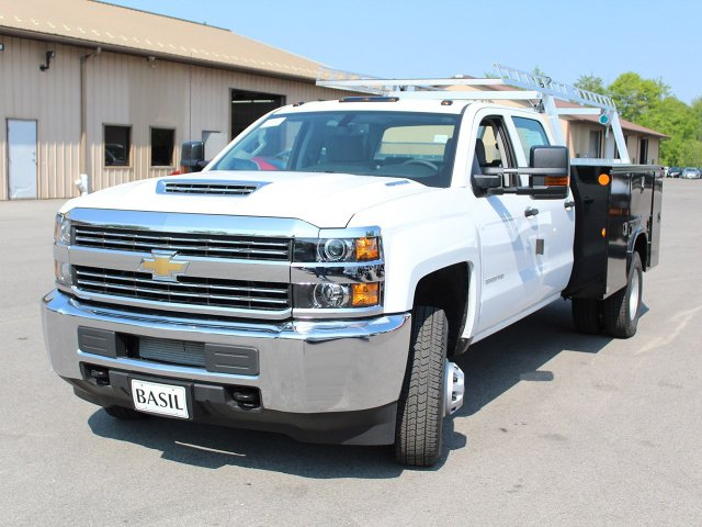 2018 Silverado 3500 Crew Cab DRW 4x4, Service Body #18C144T - photo 5
