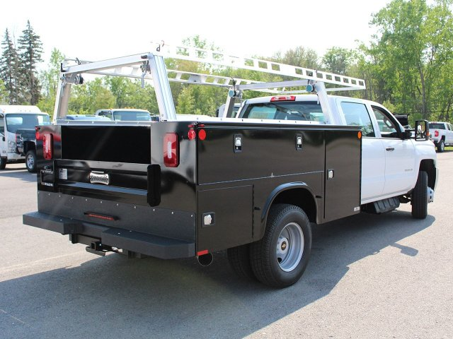 2018 Silverado 3500 Crew Cab DRW 4x4, Service Body #18C144T - photo 9