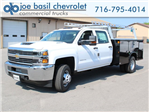 2018 Silverado 3500 Crew Cab DRW 4x4, Service Body #18C144T - photo 1