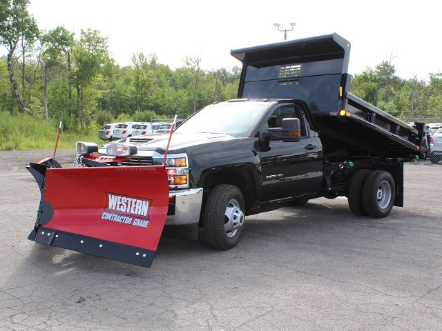 2018 Silverado 3500 Regular Cab DRW 4x4,  Air-Flo Dump Body #18C147T - photo 12