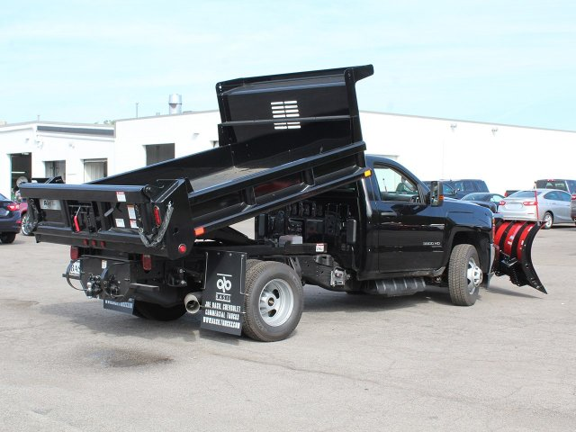 2018 Silverado 3500 Regular Cab DRW 4x4,  Air-Flo Dump Body #18C147T - photo 14