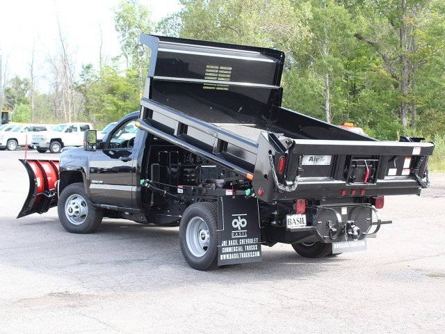 2018 Silverado 3500 Regular Cab DRW 4x4,  Air-Flo Dump Body #18C147T - photo 15