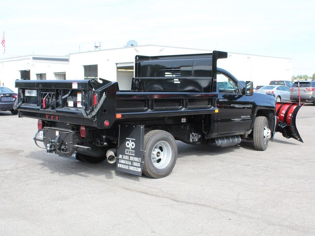 2018 Silverado 3500 Regular Cab DRW 4x4,  Air-Flo Dump Body #18C147T - photo 2