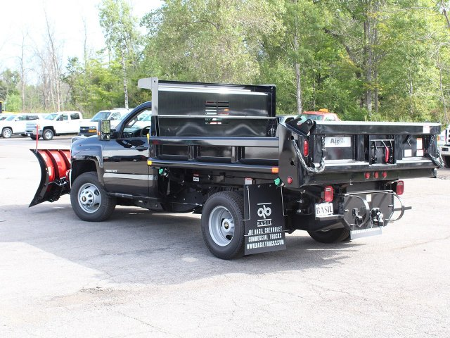 2018 Silverado 3500 Regular Cab DRW 4x4,  Air-Flo Dump Body #18C147T - photo 8