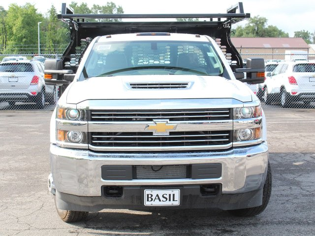 2018 Silverado 3500 Regular Cab DRW 4x4,  Knapheide Contractor Body #18C169T - photo 5