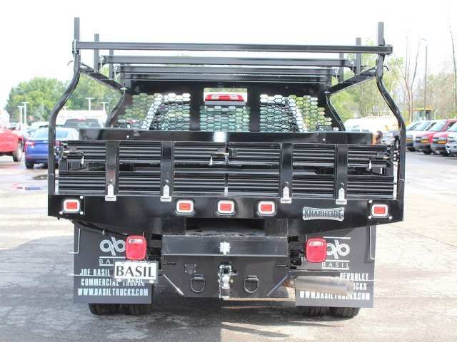 2018 Silverado 3500 Regular Cab DRW 4x4,  Knapheide Contractor Body #18C169T - photo 6