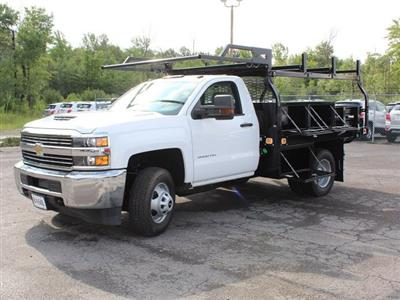 2018 Silverado 3500 Regular Cab DRW 4x4,  Knapheide Contractor Body #18C169T - photo 17