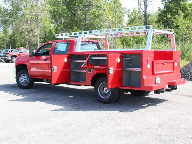 2018 Silverado 3500 Crew Cab DRW 4x4,  Reading Service Body #18C172T - photo 18